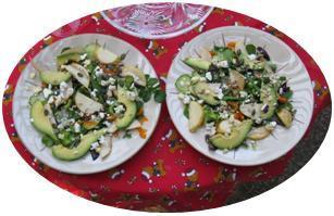 Jen's Pear Salad