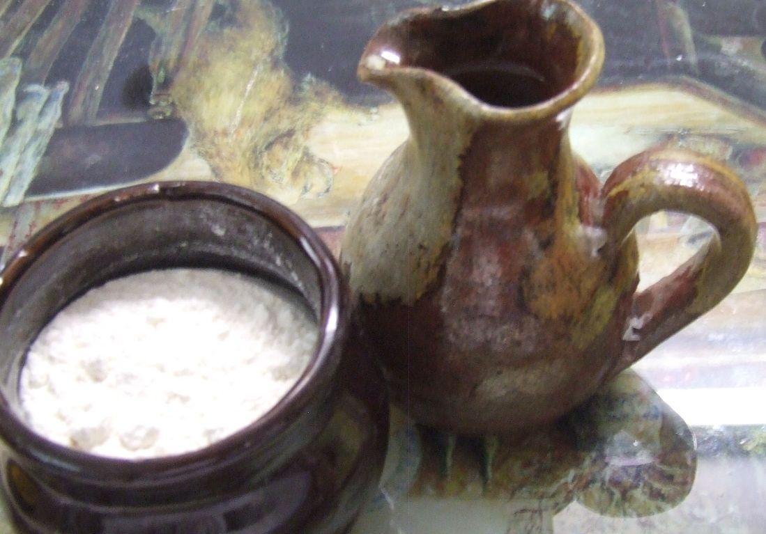 Elijah And Pot Oil